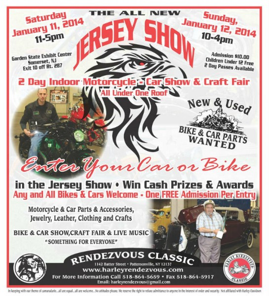 Harley Rendezvous Jersey Show