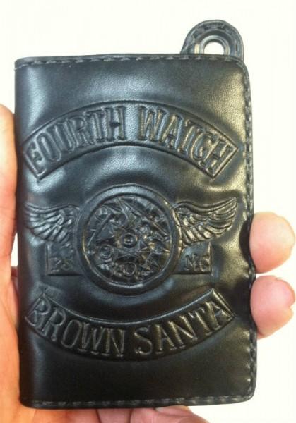 Brown Santa's Custom Tooled Wallet