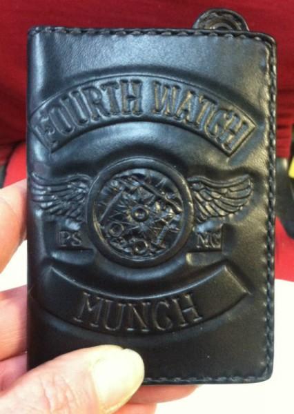 Munch's Custom Tooled Wallet