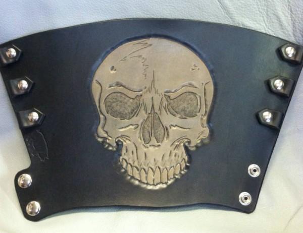 Skull Bracer Prototype Open
