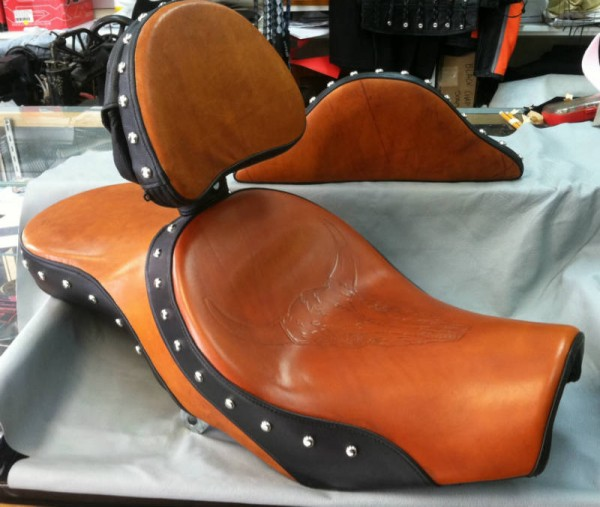 John's Custom Honda Seat Ensemble