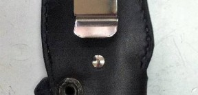 Back View of Boot Sheath