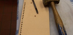 Hand Punched Leather